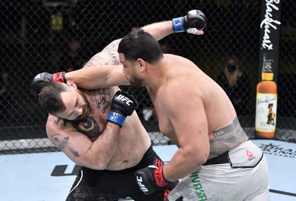 Tai Tuivasa KO vs. Hunsucker