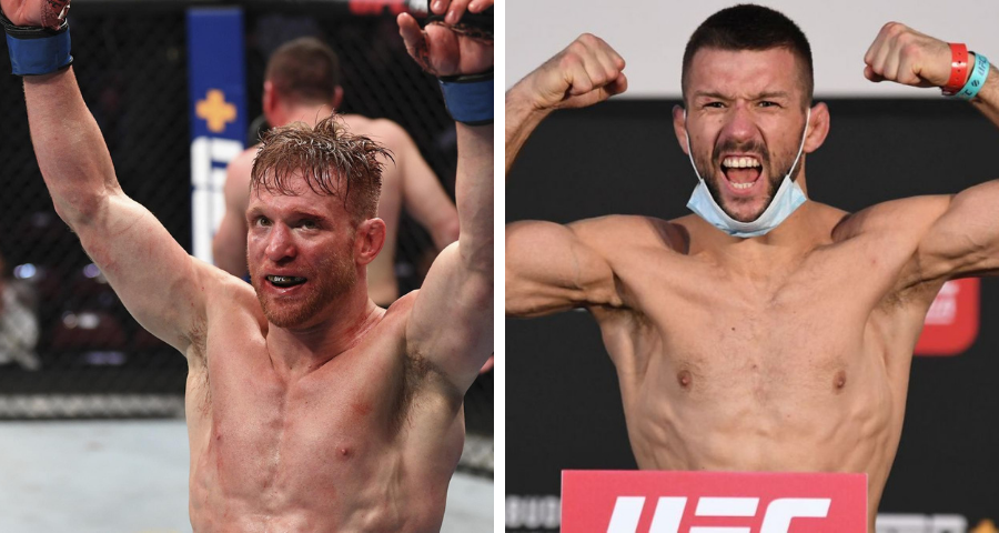 Scott Holtzman vs. Mateusz Gamrot added to UFC's April 10 card