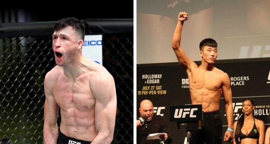 Julian Erosa vs. Seung Woo Choi booked for UFC's June 19 event