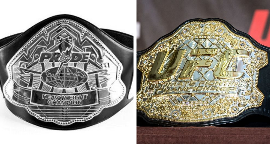 PRIDE and UFC's Heavyweight Titles: The Unheralded Unification