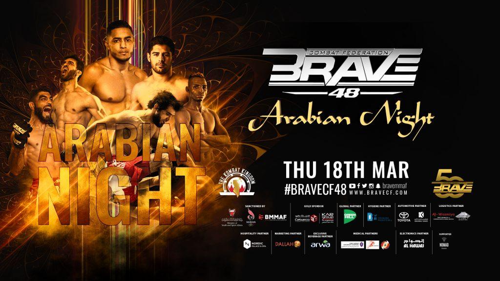 Brave CF 48 Results: Arabian Night - Djiroun vs. Makhazhiev