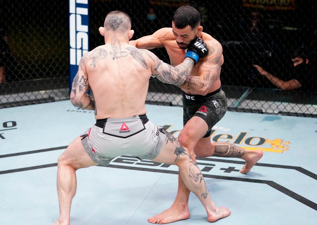 Gavin Tucker, Dan Ige One-Punch KO's Gavin Tucker At UFC Vegas 21, Gavin Tucker