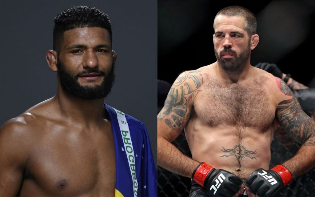 Dhiego Lima Gets Quick Turnaround - Draws UFC Vet Matt Brown on June 19 event