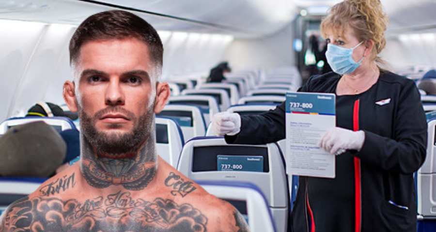 Cody Garbrandt and son kicked off flight for violating mask mandate