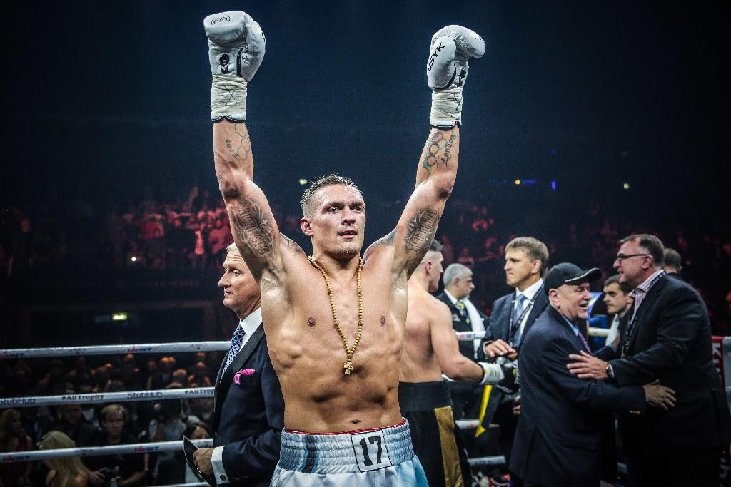 Oleksandr Usyk purports UFC offer from Dana White