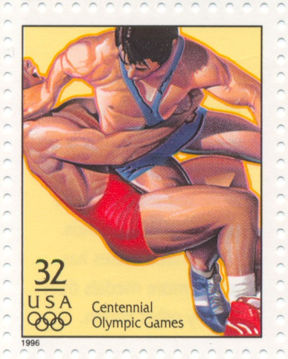 Freestyle Wrestling official stamp