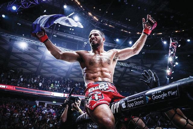 Israeli MMA Fighter, Noah Lahat