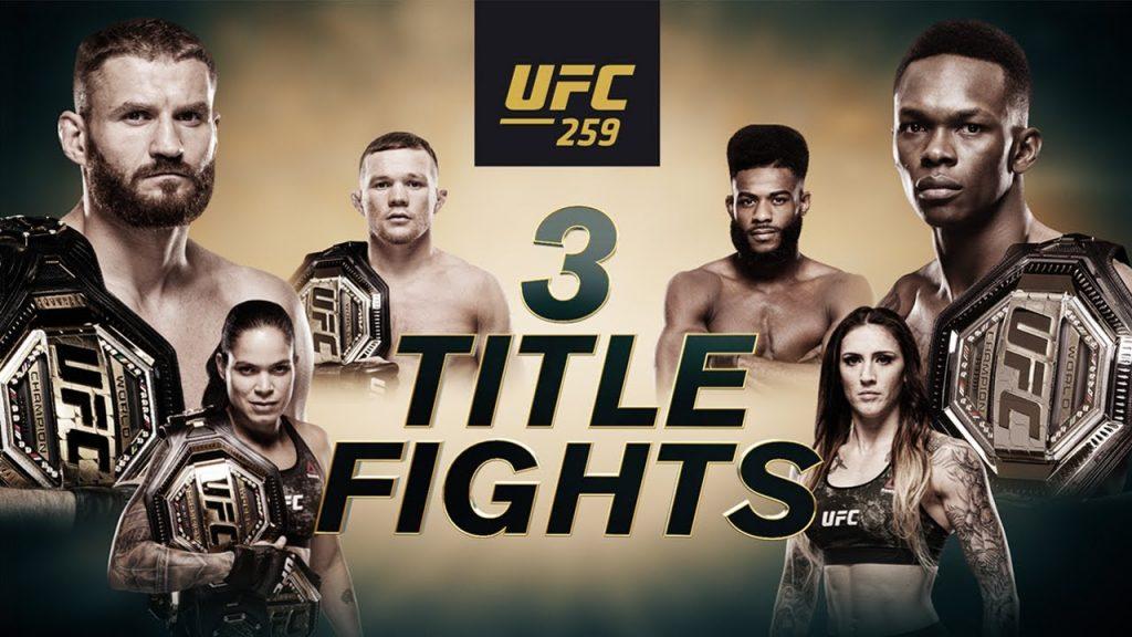 UFC 259 results - Blachowicz vs. Adesanya