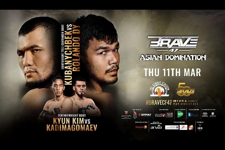 Brave CF 47 results: Asian Domination - Kubanychbek vs. Dy