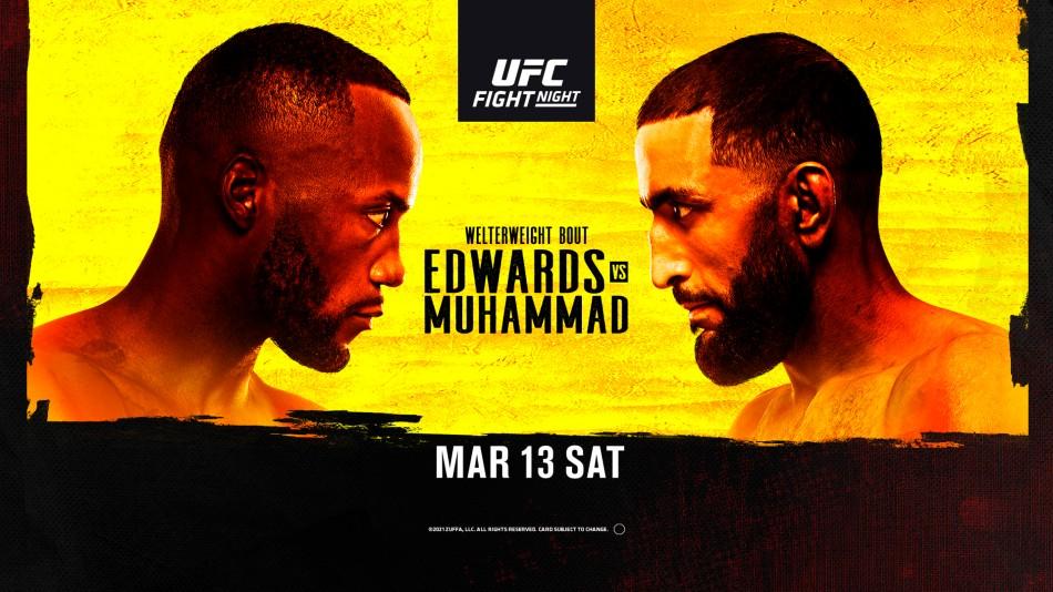 UFC Vegas 21 results - Edwards vs. Muhammad