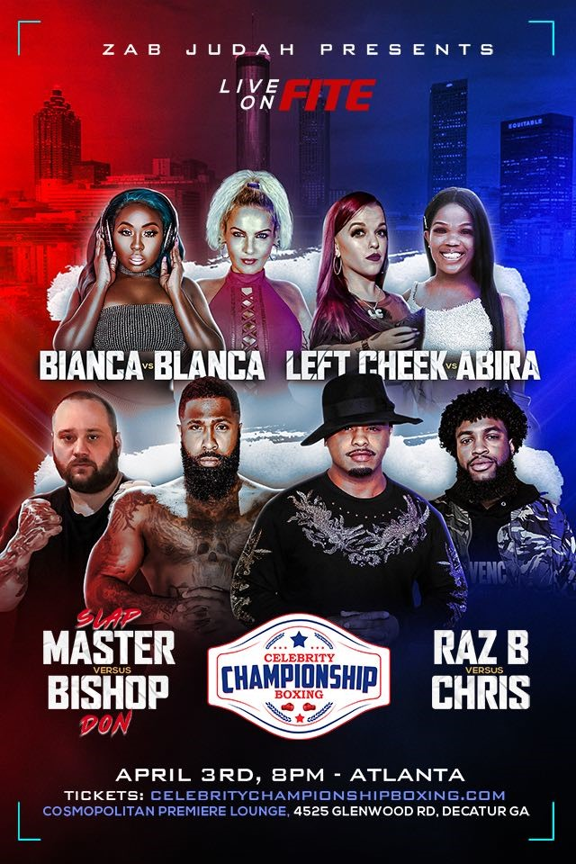 Zab Judah Launches Celebrity Championship Boxing