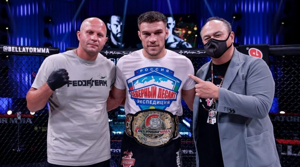 Vadim Nemkov Defends Bellator Light-Heavyweight Title Against Phil Davis At Bellator 257