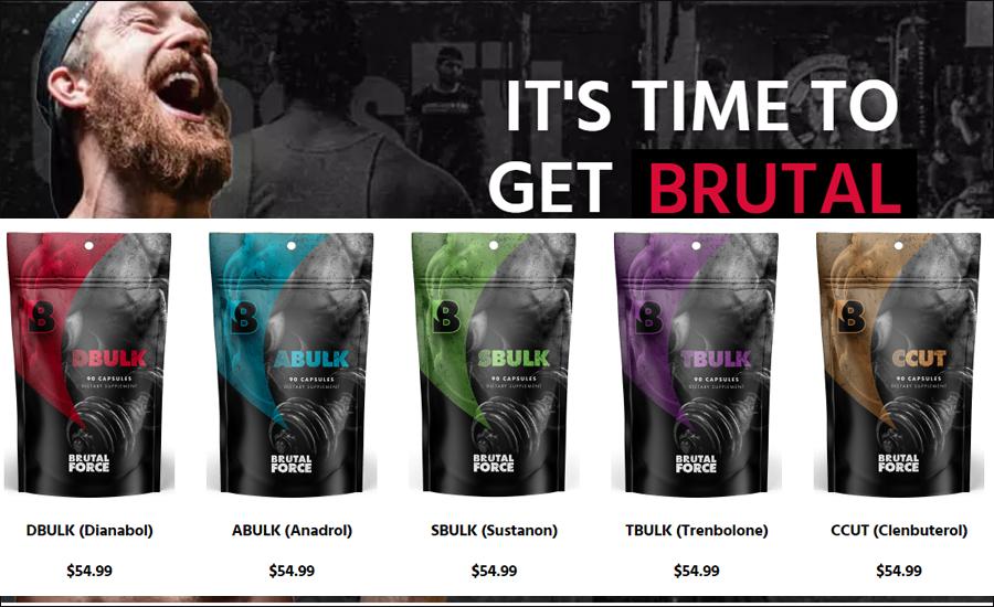brutal force supplements
