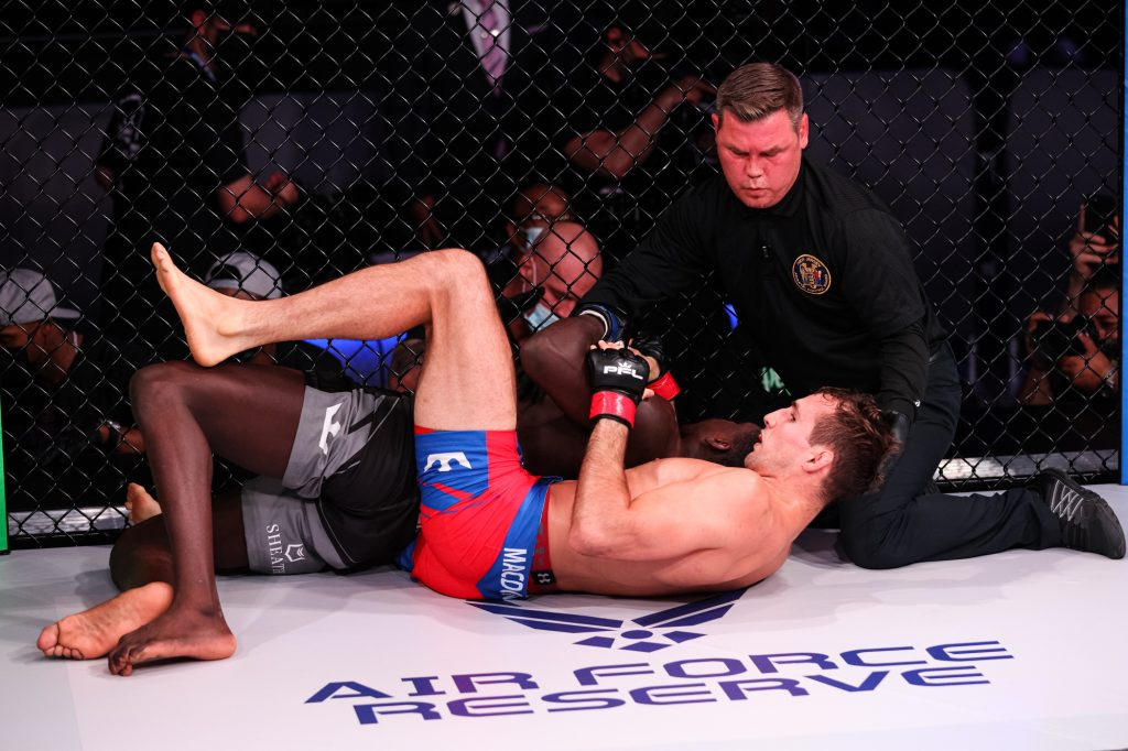 Rory MacDonald Secures First Round Submission Over Curtis Millender At PFL 2 - 2021