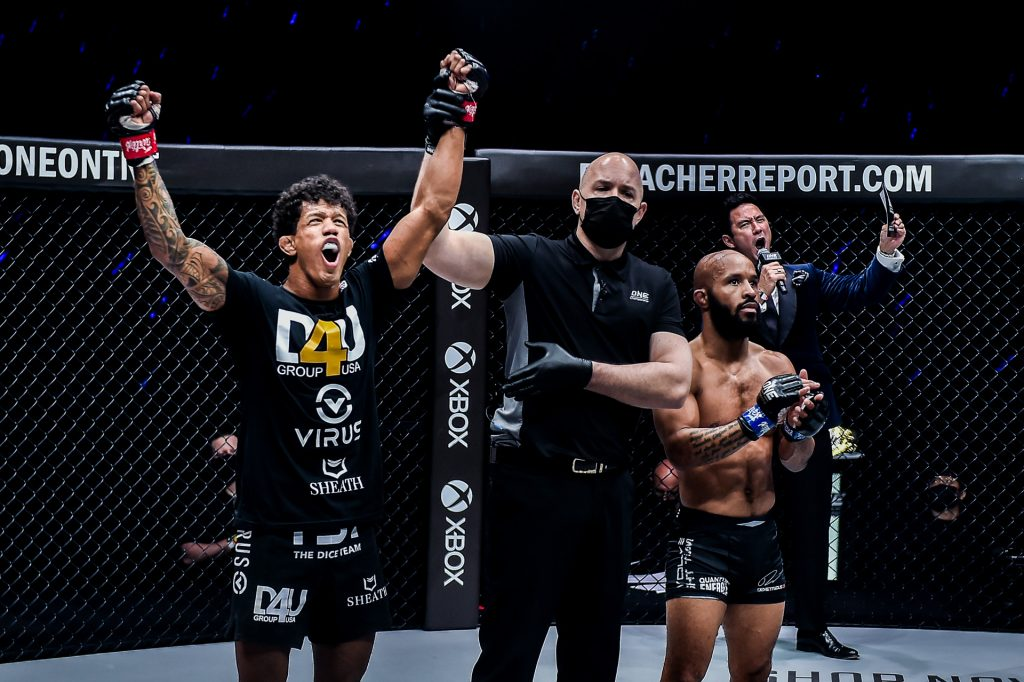 Adriano Moraes Retains ONE Flyweight World Title With Shocking Knockout of Demetrious Johnson