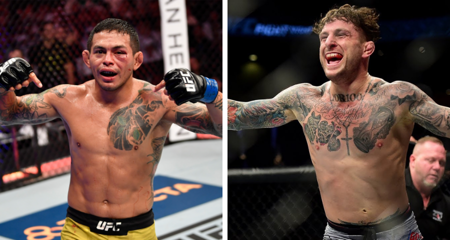 Diego Ferreira vs. Gregor Gillespie added to UFC Fight Night event on May 8
