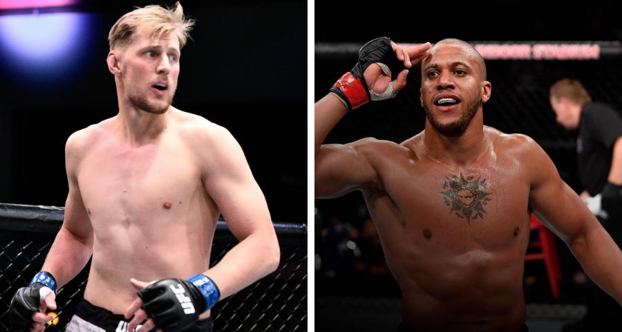 Alexander Volkov vs Ciryl Gane tops June 26th UFC Fight Night