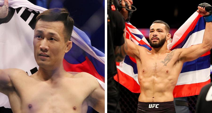 Korean Zombie vs Dan Ige tops UFC Fight Night on June 19th