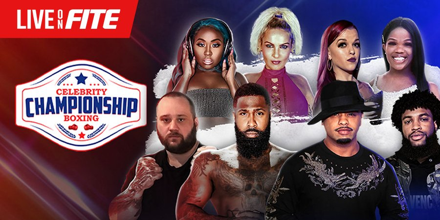 Celebrity Championship Boxing - Don Bishop vs Slap For Cash - PPV Live Stream