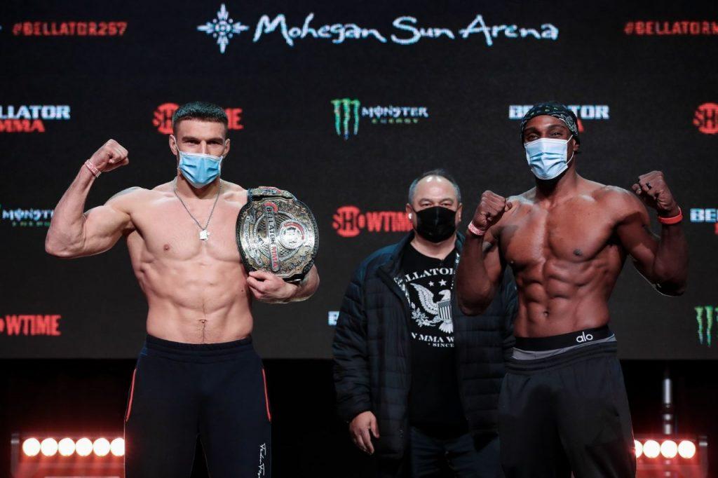Bellator 257, Phil Davis, Vadim Nemkov