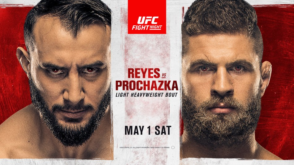 UFC on ESPN 23 results (UFC Vegas 25) – Reyes vs. Prochazka