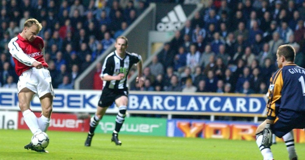 unbelievable goals, Dennis Bergkamp