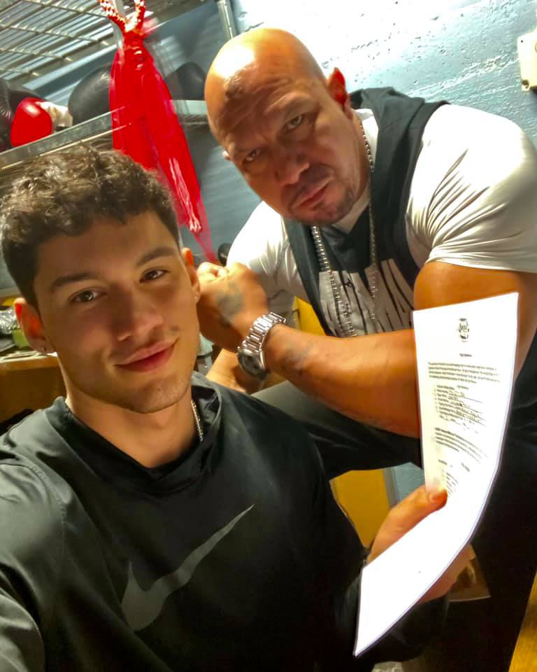 JJ Veramendi set for Muay-Thai battle