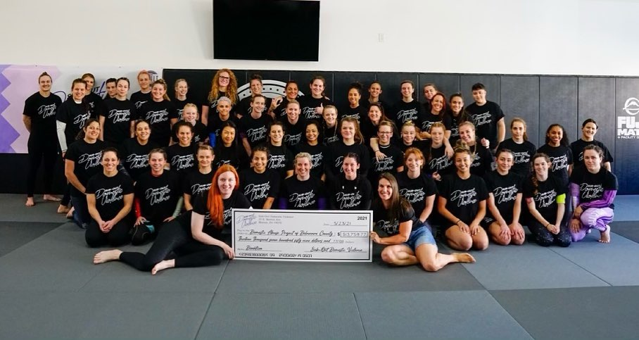 Sub-Out Domestic Violence all female event brings community together at The Vault BJJ
