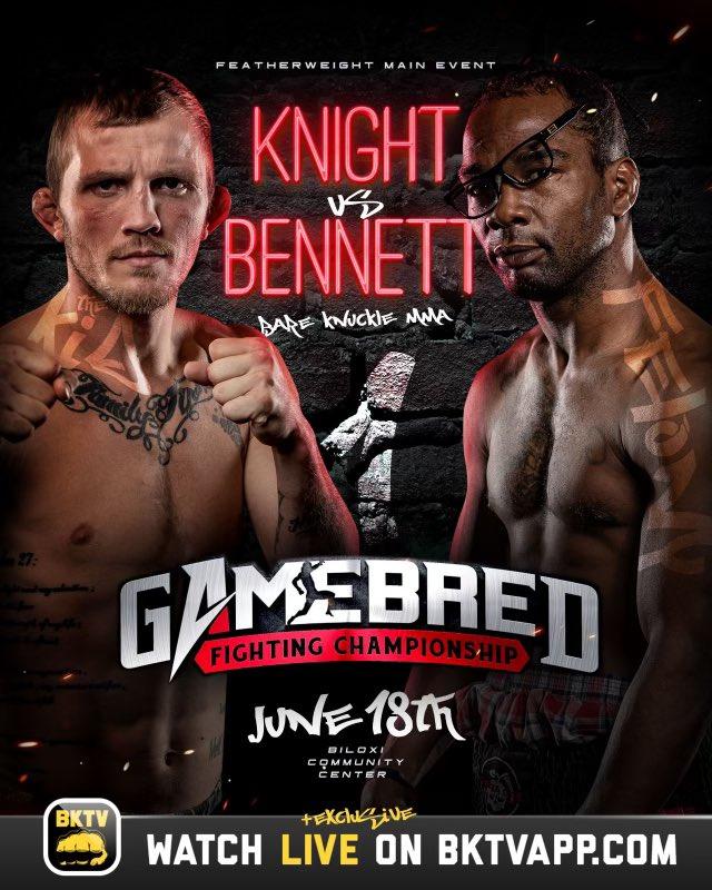 Jason Knight vs. Charles Bennett