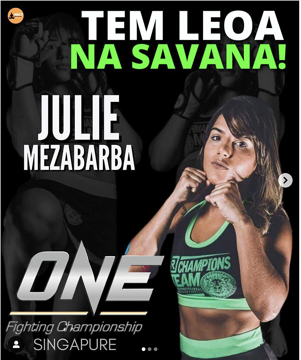 Julie Mezabarba signs to ONE