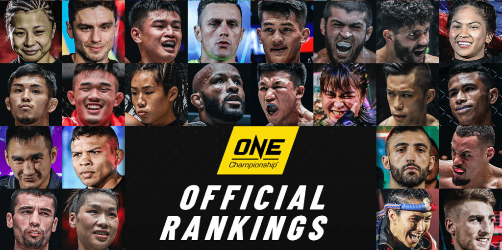 ONE Championship rankings shifts after ONE on TNT series