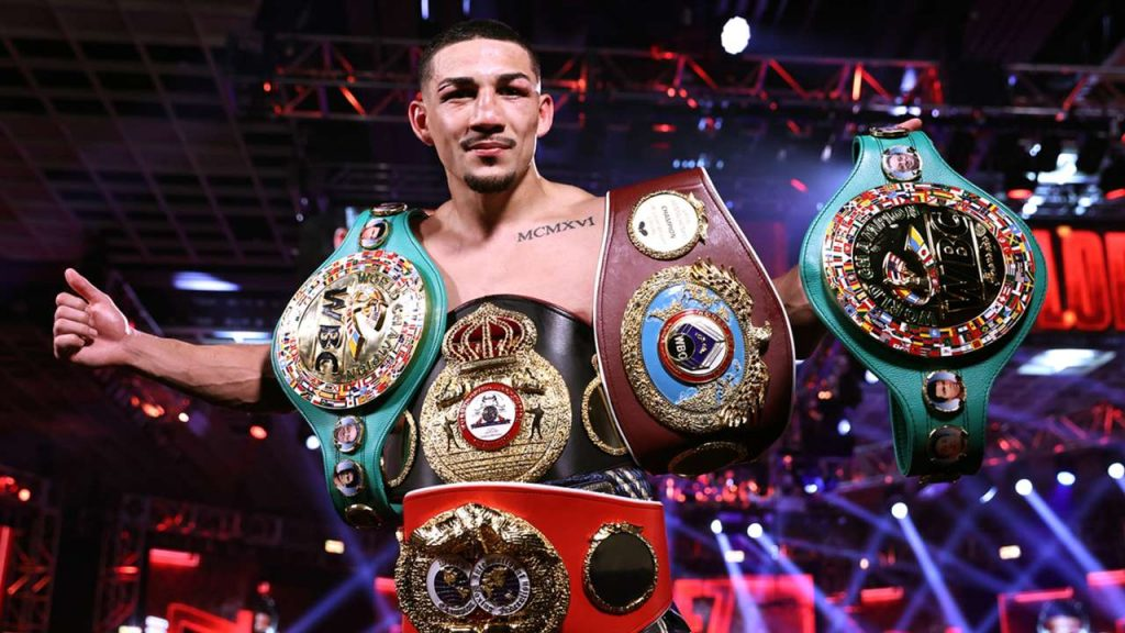 Teofimo Lopez on crying when receiving The Ring Magazine belt