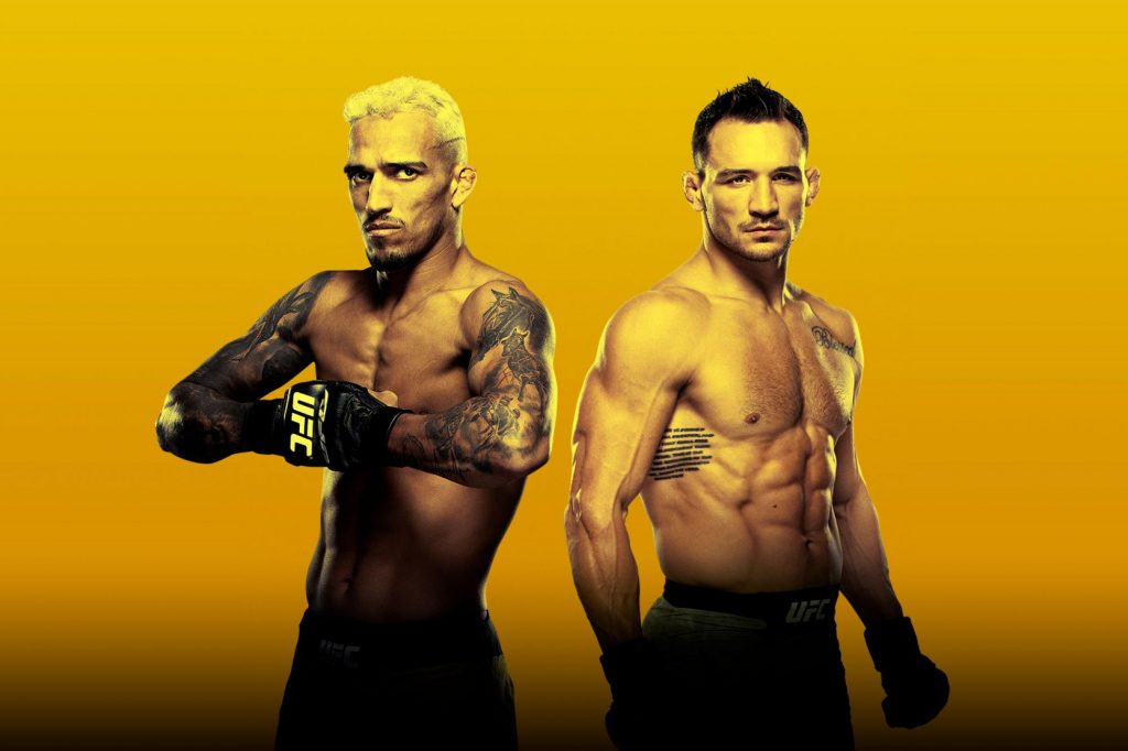 UFC 262, UFC 262 results