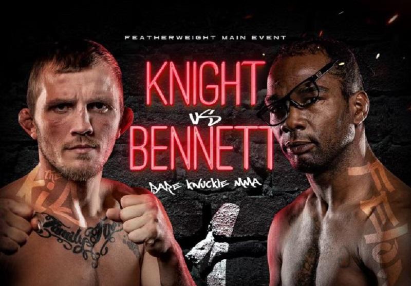 Jason Knight vs. Charles Bennett headlines bare knuckle MMA show