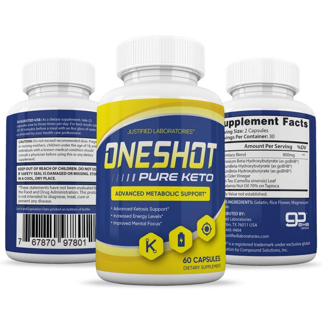 ONE Shot KETO Reviews - Negative Side Effects or Legit Shark Tank Keto Pills