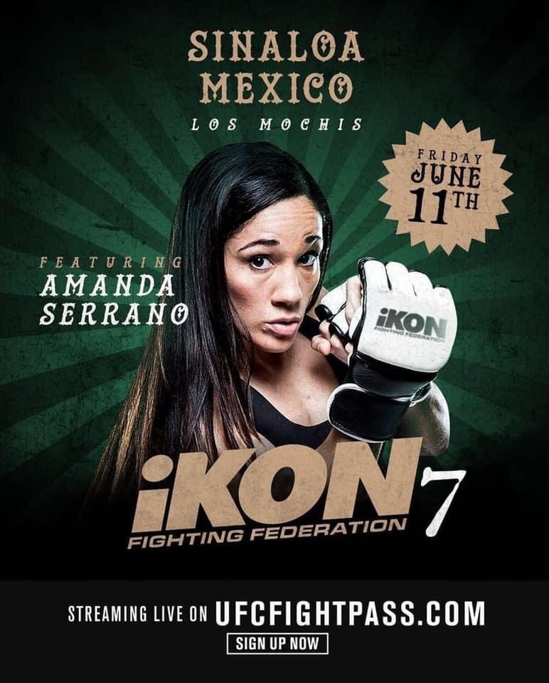 Amanda Serrano to headline iKON 7 MMA event