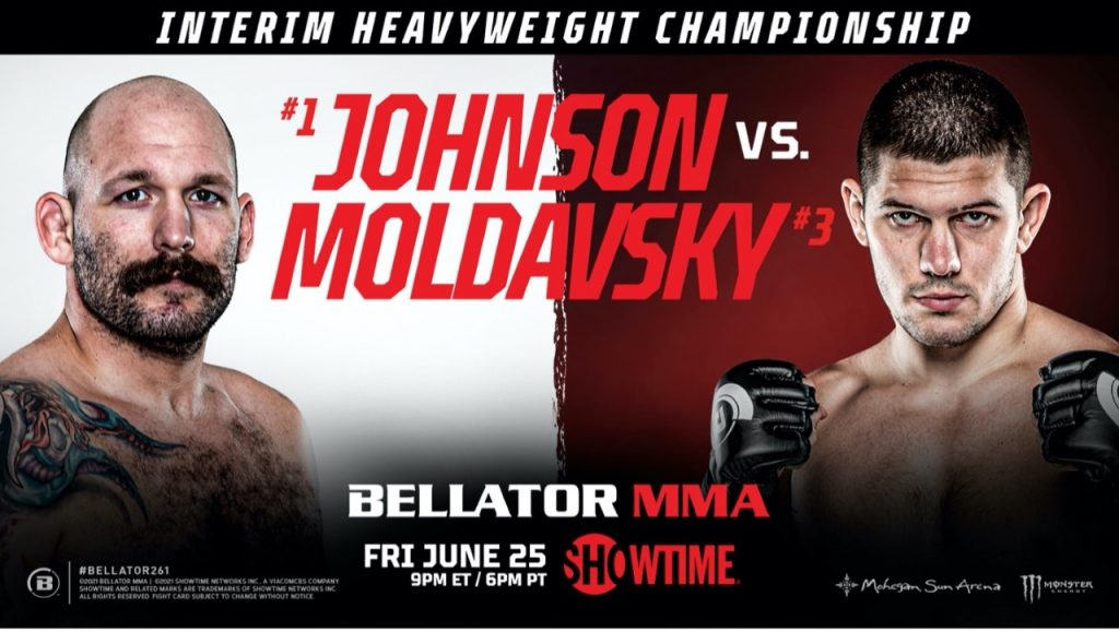 Heavyweight Interim Title Bout Announced for BELLATOR 261 on Friday, June 25