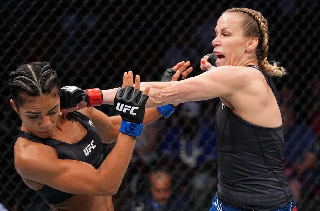 Katlyn Chookagian Picks Viviane Araujo Apart To UD Victory At UFC 262