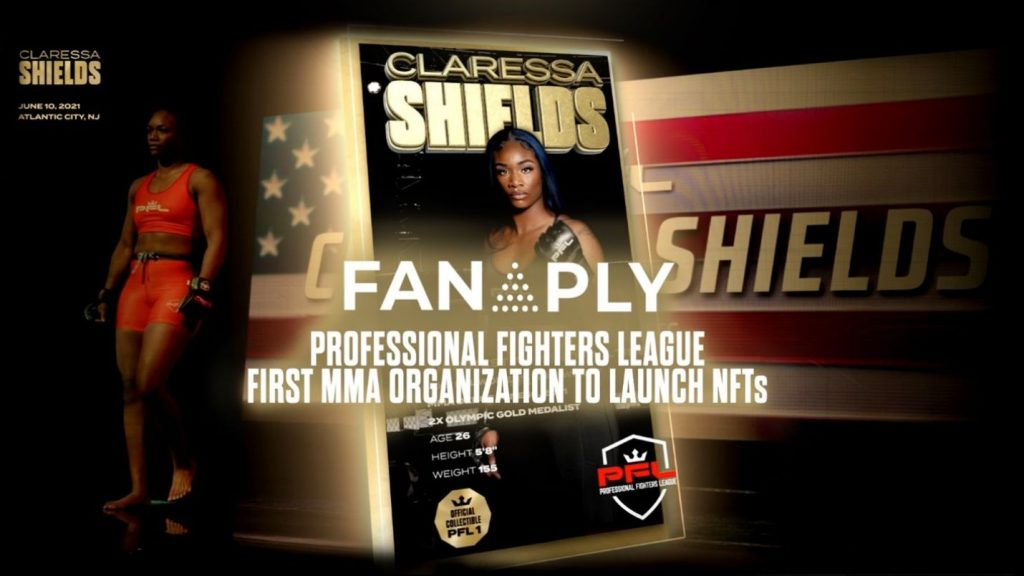 NFTs, PFL and Fanaply announce first MMA organization's NFTs in history