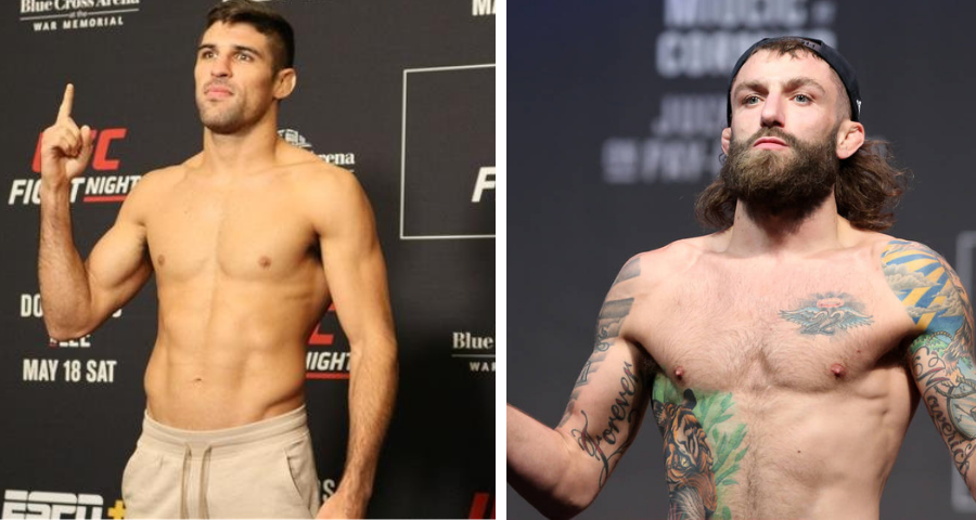 Vicente Luque vs. Michael Chiesa to meet at UFC 265 on Aug. 7