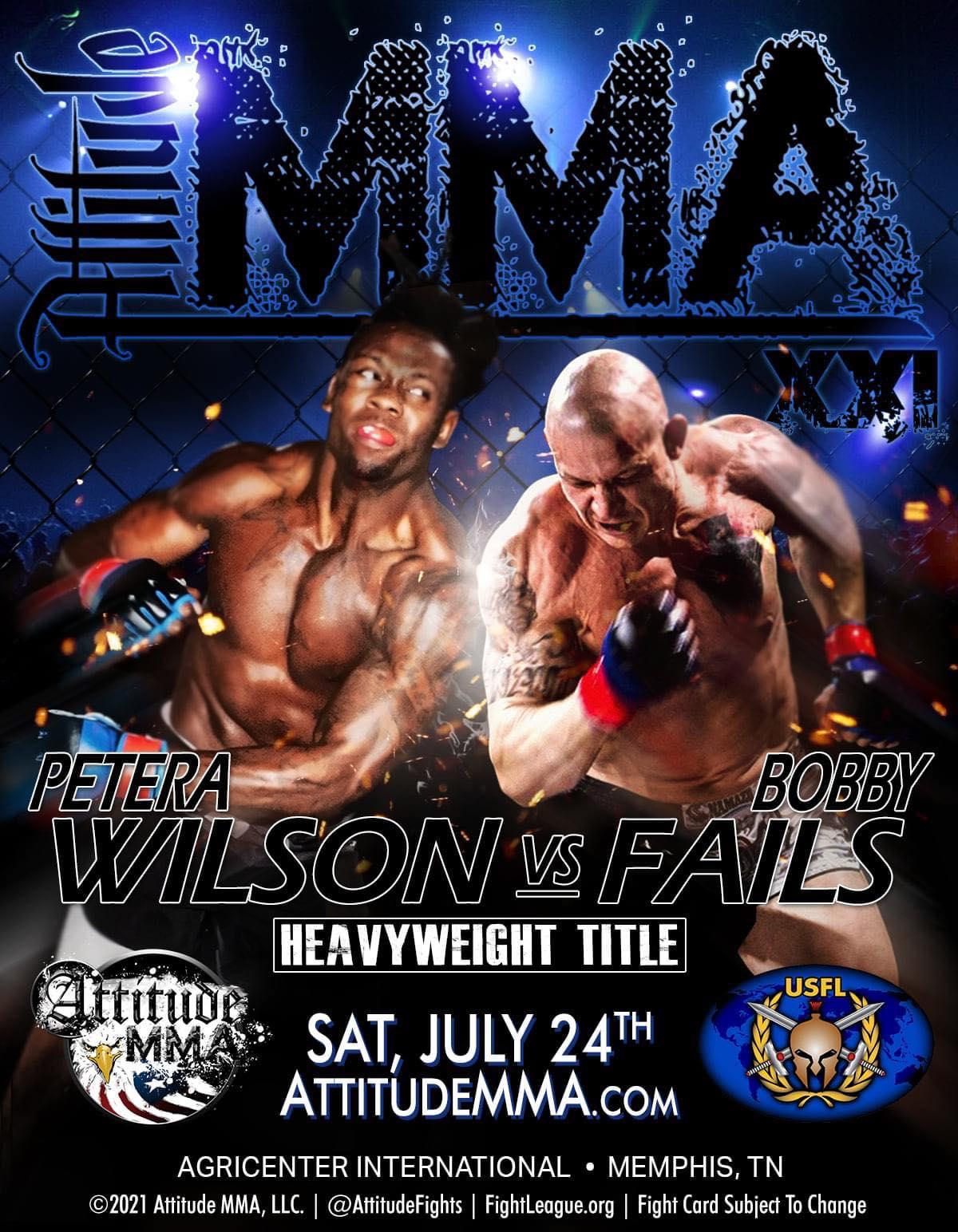 Attitude MMA, Memphis