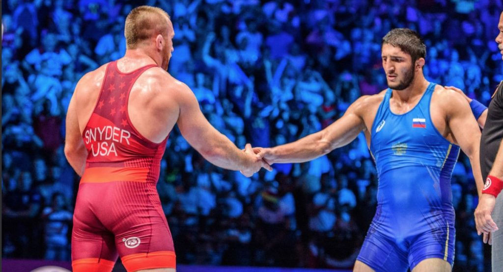 Team Russia wrestling