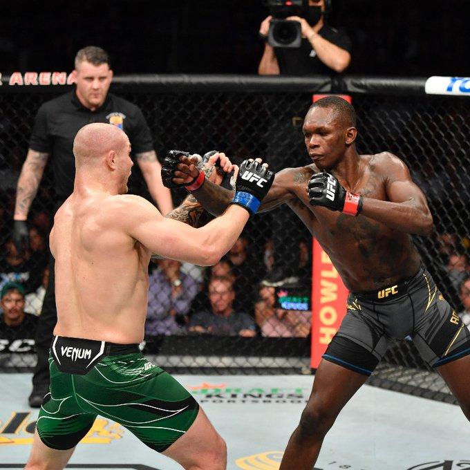 Israel Adesanya, UFC 263