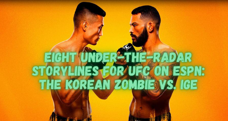 The Korean Zombie vs. Ige