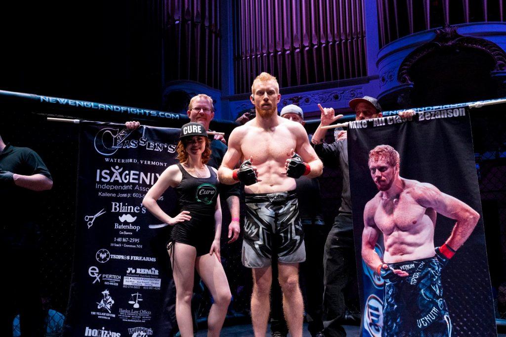 Mike Bezanson, New England Fights