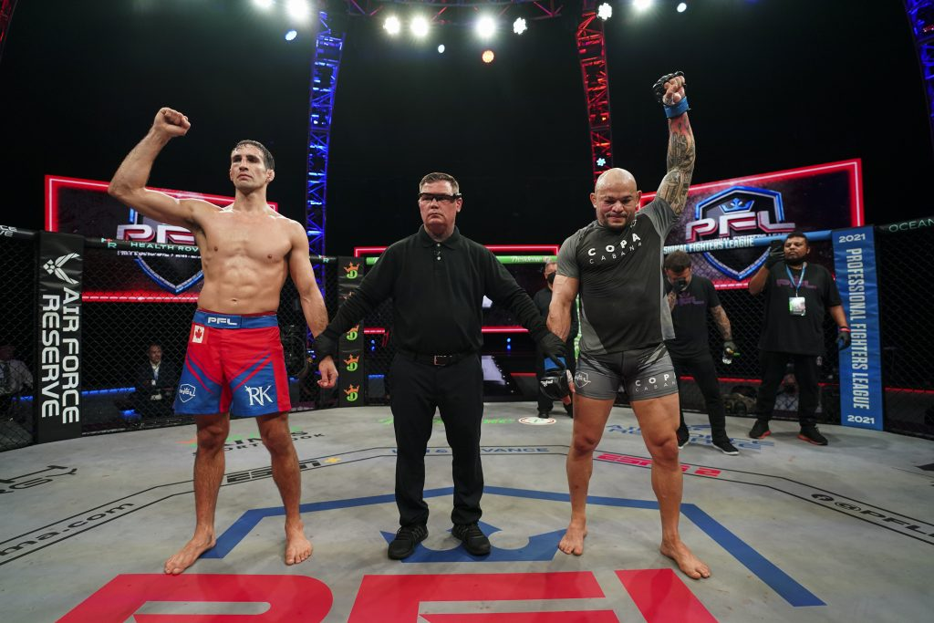 Rory MacDonald blasts judging in loss to Gleison Tibau at PFL 5: 'It was a clear robbery'