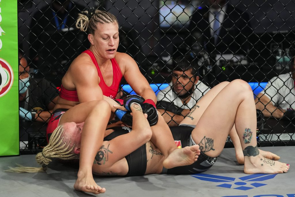 Kayla Harrison Submits Cindy Dandois In Round One At PFL 6 - 2021