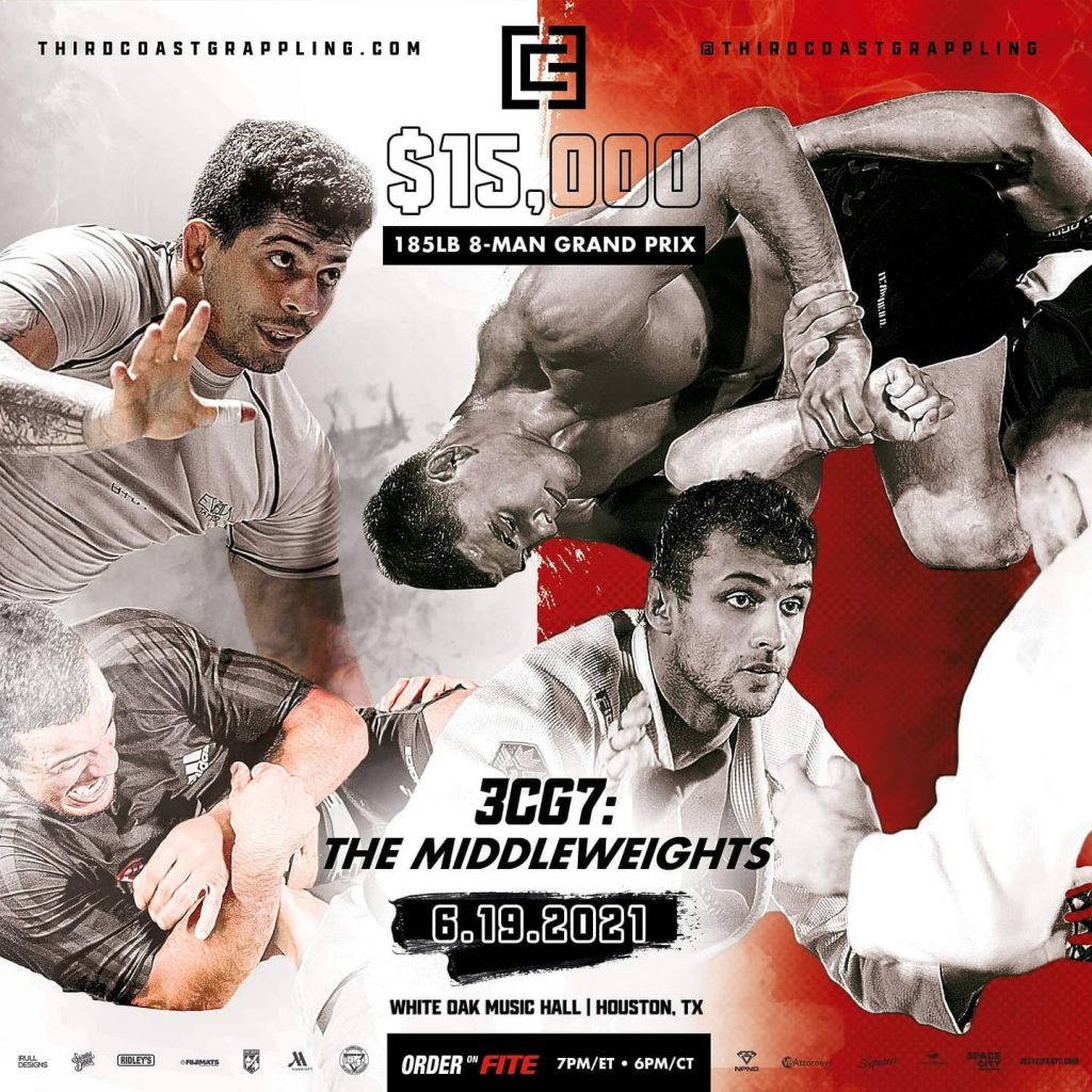 Third Coast Grappling 7 - 8 Man Tournament Middleweights