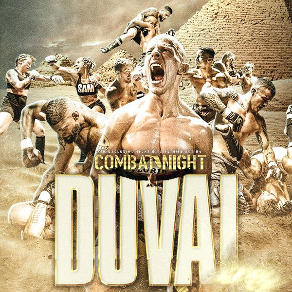 Combat Night Duval - Pay-per-view live stream