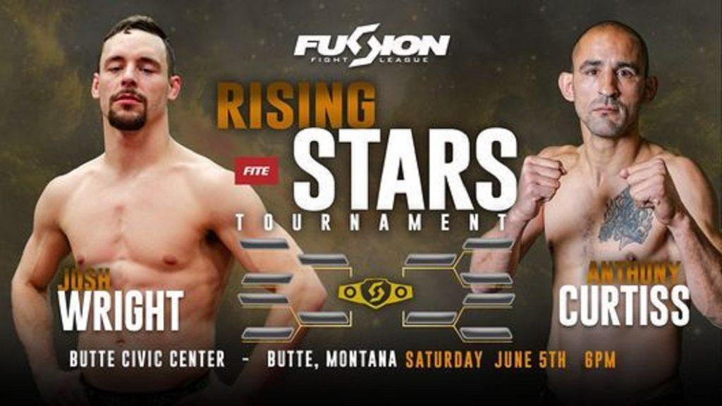 Fusion Fight League - Josh Wright vs Antony Curtiss - PPV Live Stream